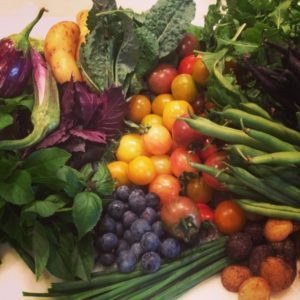 Chef Dave Snyder's Summer Produce